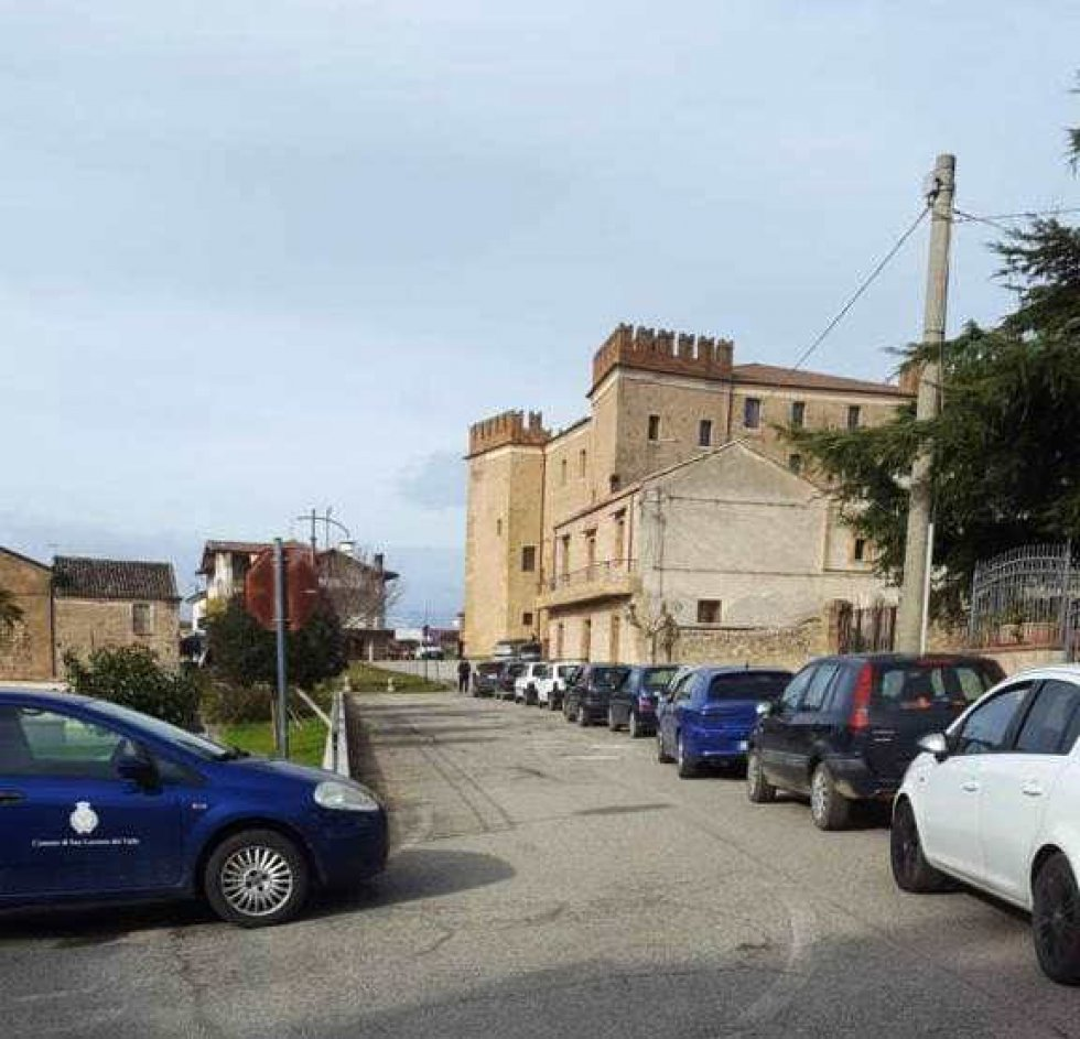 Il drive-in screening a San Lorenzo del Vallo