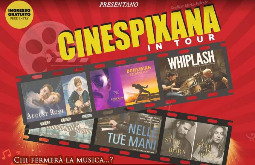 Parte il CineSpixana in Tour, evento di musica e cinema