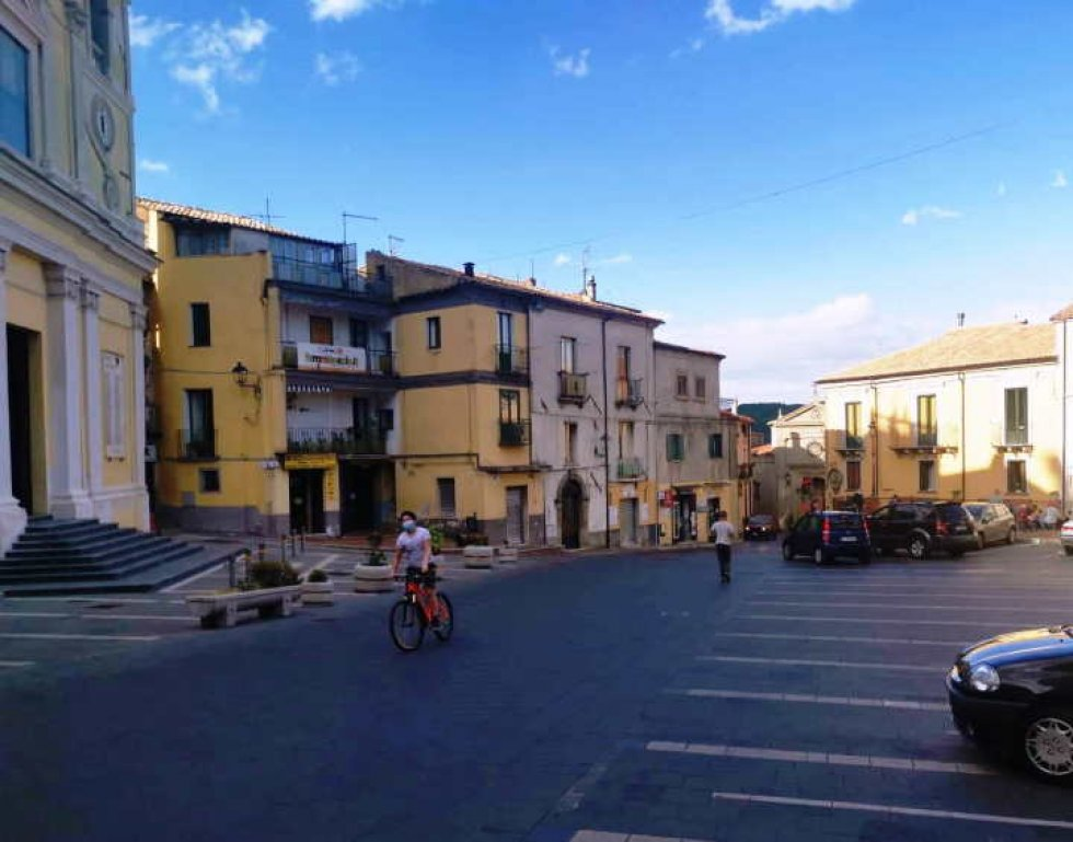 Piazza Splendore a Fagnano
