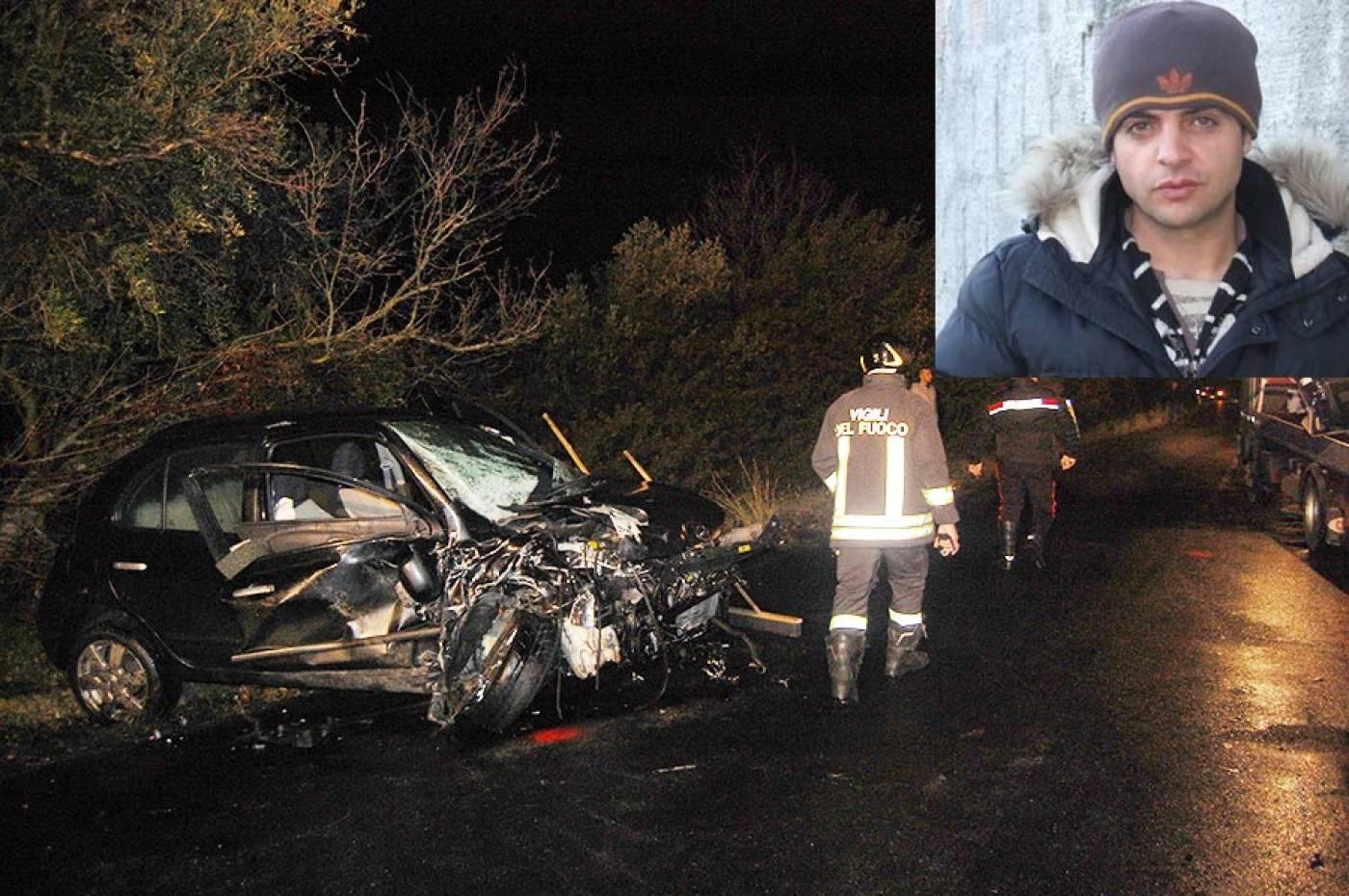 Incidenti, schianto nel Cosentino: muore un 42enne, grave 19enne
