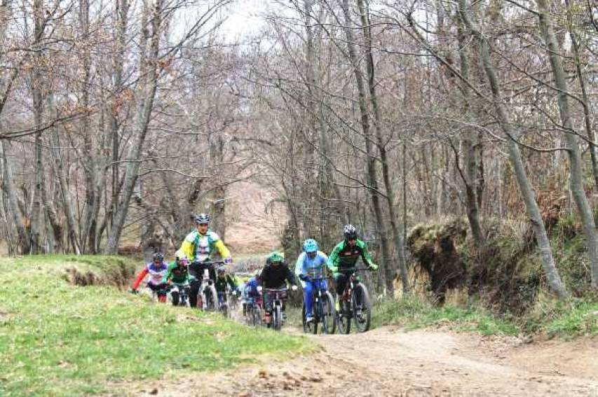 Un'escursione in bike tra i monti dell'Esaro