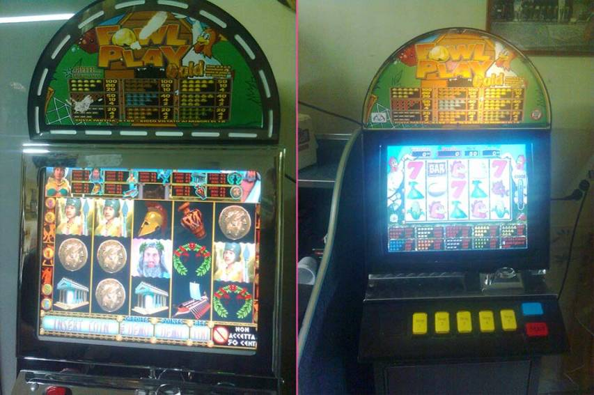 Sequestrate slot machines irregolari nella Valle dell'Esaro