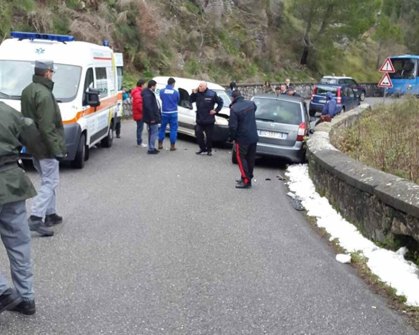 Brutto incidente a Sant'Agara d'Esaro, Interviene l'eliambulanza: due i feriti